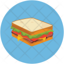 Bread Fast Food Icon