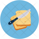 Bread Slices With Icon