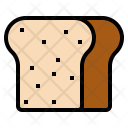 Bread Fastfood Food Icon