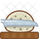 Bread Chopping Board Icon