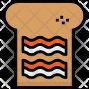 Bread Bacon Cook Icon