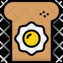 Bread Egg Cook Icon