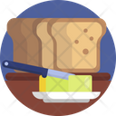 Food Bread Butter Icon