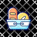 Bread Basket Bakery Icon