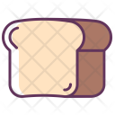Bread Breakfast Toast Icon