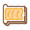 Toast Butter Margarine Icon