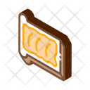 Toast Butter Outlie Icon