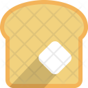 Bread Butter Cooking Icon