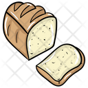 Bread Loaf Sliced Bread Baked Item Icon