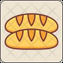 Bread Loaf Bread Breakfast Icon