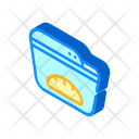 Bread Maker Isometric Icon