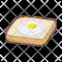 Yolk Omelette Break Icon
