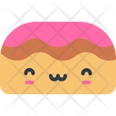 Bread Roll Bakery Breakfast Cake Icon