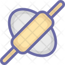 Bread Roller Dough Roller Kitchen Tool Icon