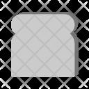 Bread Slice Icon