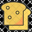 Bread Slice Toast Bread Toast Icon