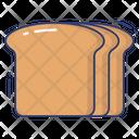 Bread Slice Bread Slice Icon