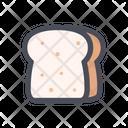 Bread Slice Bread Grains Icon