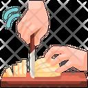Bread Slice Cut Bread Slice Cut Icon