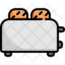 Bread Toaster Kitchen Icon