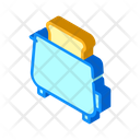 Toaster Fry Bread Icon