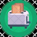 Bread Toaster Toaster Slice Toaster Icon