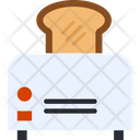 Bread Toster Toaster Kitchen Equipment Icon