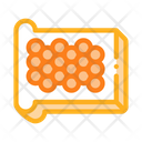 Caviar Design Bread Icon