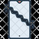 Break Smartphone Screen Break Icon