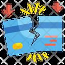Break Credit Card Icon