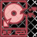 Break Hard Disk Break Hdd Hard Disk Drive Icon