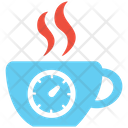 Break Time Rest Time Tea Time Icon