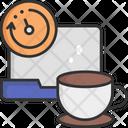 Break Time Break Coffee Icon