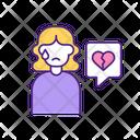 Break Up Breakup Woman Icon
