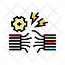 Wire Breakage Color Icon