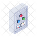Changeover Breaker Control Buttons Breaker Panel Icon
