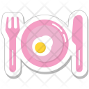Breakfast Meal Dining Icon