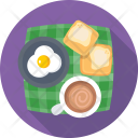 Breakfast Tea Coffee Icon