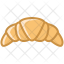 Breakfast Croissant Food Icon