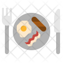 Breakfast Meal Food Icon