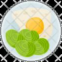 Breakfast Egg Protein Diet Icon