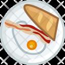Breakfast Food Dish Icon