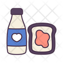 Drink Milk Water Icon
