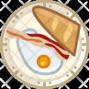 Breakfast Dish Egg Icon