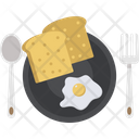 Dining Fork Plate Icon