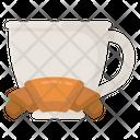 Breakfast Brunch Tea Time Icon