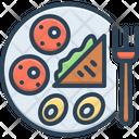 Breakfast Brekker Food Icon