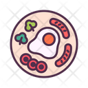 Food Delivery Breakfast Icon