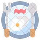 Breakfast Morning Food And Restaurant Icon