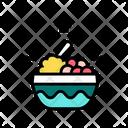 Breakfast Food Plate Icon
